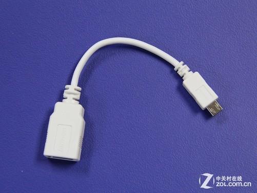连接打印机的usb线和手机的数据接口