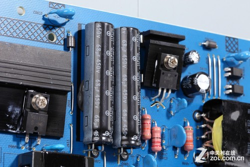 液晶电视 正文  下面我们来看看乐视tv s50 air的t-con电路板以及供电