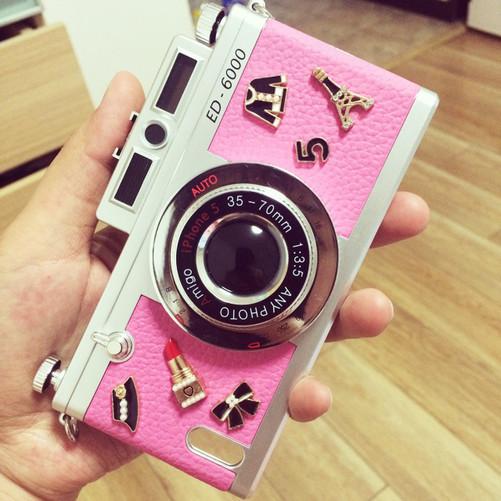 韩国tridea 5s复古照相机手机壳328元