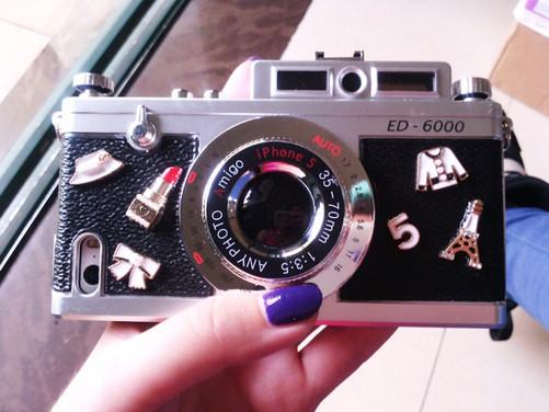 5s复古照相机手机壳328元-中关村在线