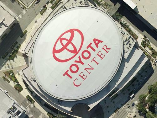 丰田中心球馆俯视图(图片来自gooooal)