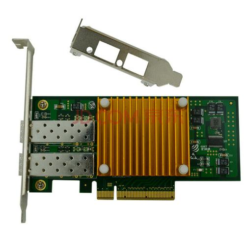 万兆网卡 光润通万兆光纤网卡f1002e-v3.0