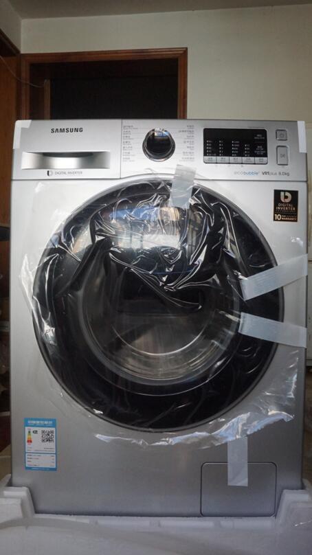 随添衣物的三星滚筒洗衣机—安装使用篇-中关村在线