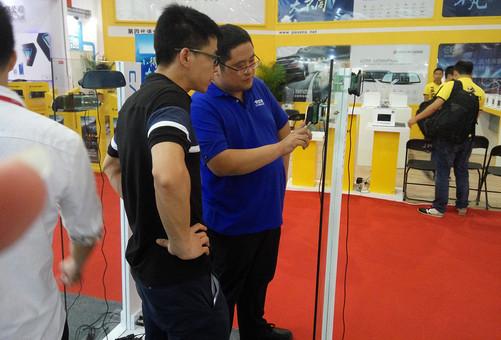 卡仕特快装云镜 亮相武汉国际汽车博览会-中关村在线
