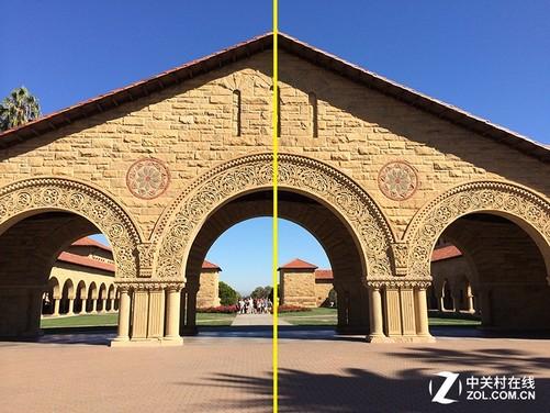 对称式构图 自然界中,对称的事物很多,比如动物的身体,建筑,这些
