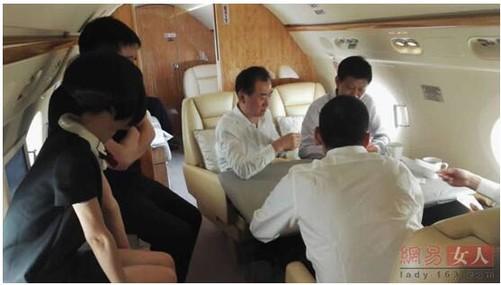 王健林私人飞机鲁豫