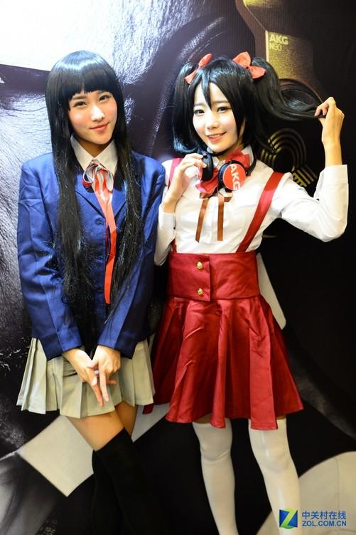 旗舰+新品+萌妹子 今年akg展台看点多