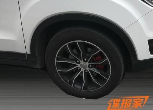 suv新选择 一汽森雅r7新车型谍照曝光