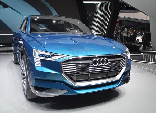 燃料电池 奥迪h-tron quattro概念车