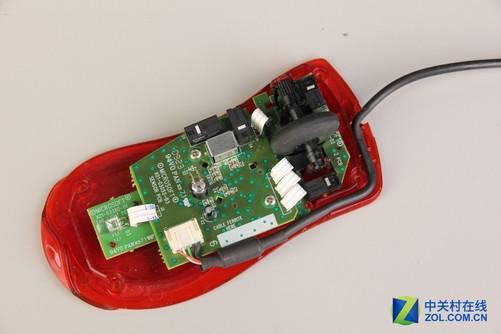 按键电路板安装后再安装鼠标主板