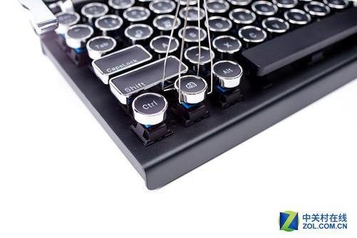 感受文字的重量 大象复古机械键盘体验-中关村在线