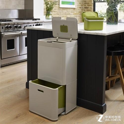 厨房垃圾不再有味 新型垃圾桶问世-中关村在线