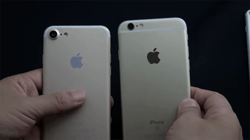 iphone7超高清大曝光!机身与 6s 正面对决!-中关村在线