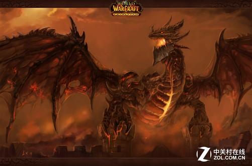 红龙女王阿莱克斯塔萨无奈只能带领其它巨龙被迫离开