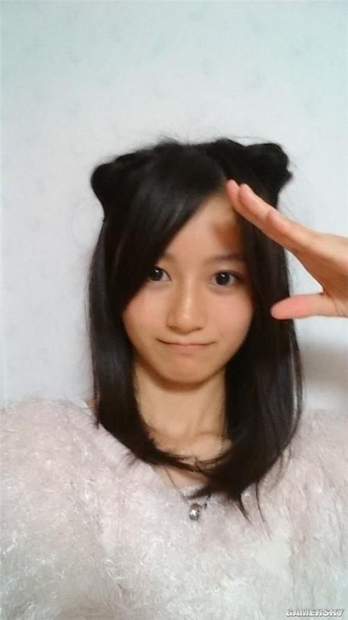 日本最可爱女高中生出炉