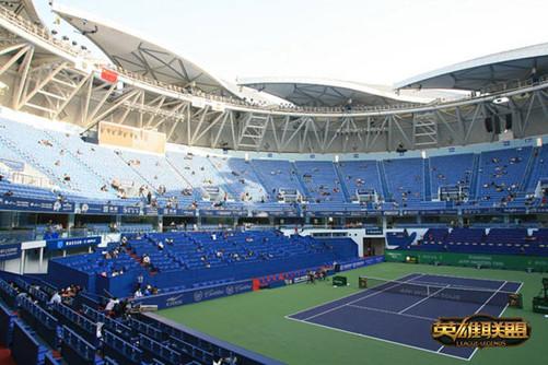 上海旗忠体育网球城赛艇中心森林费油图片