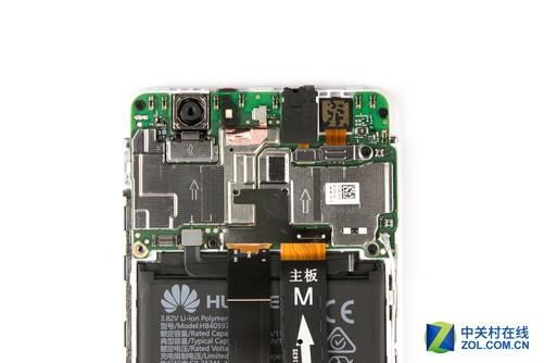 华为4000毫安手机电池电路板电路图