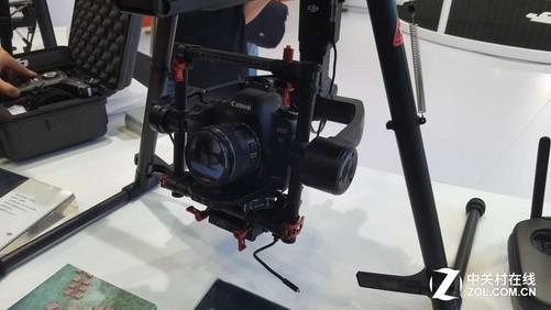 经纬相机_经纬m600上的佳能5d单反相机