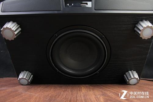 慧海pk200一体式蓝牙音箱低音设计图片