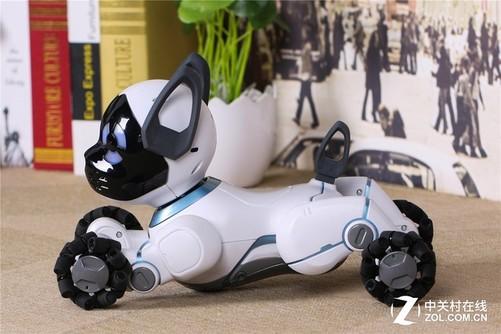 孩子的新宠物 wowwee chip智能机器狗体验
