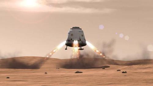 火星登陆_spacex登陆火星计划:预计耗资3亿美元