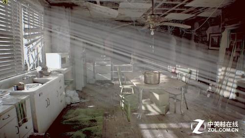 室内光影场景流畅度53fps
