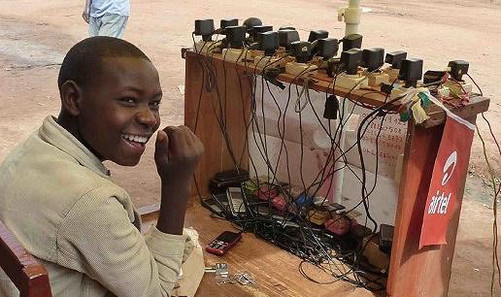 非洲性爱狠狠_打脸了!王思聪痛批的共享充电宝在非洲却很火