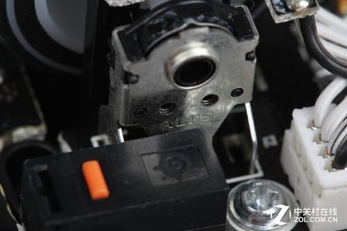 滚轮使用alps机械编码器
