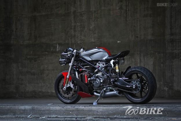 Gustavo Penna改装:Ducati 749 摩托车