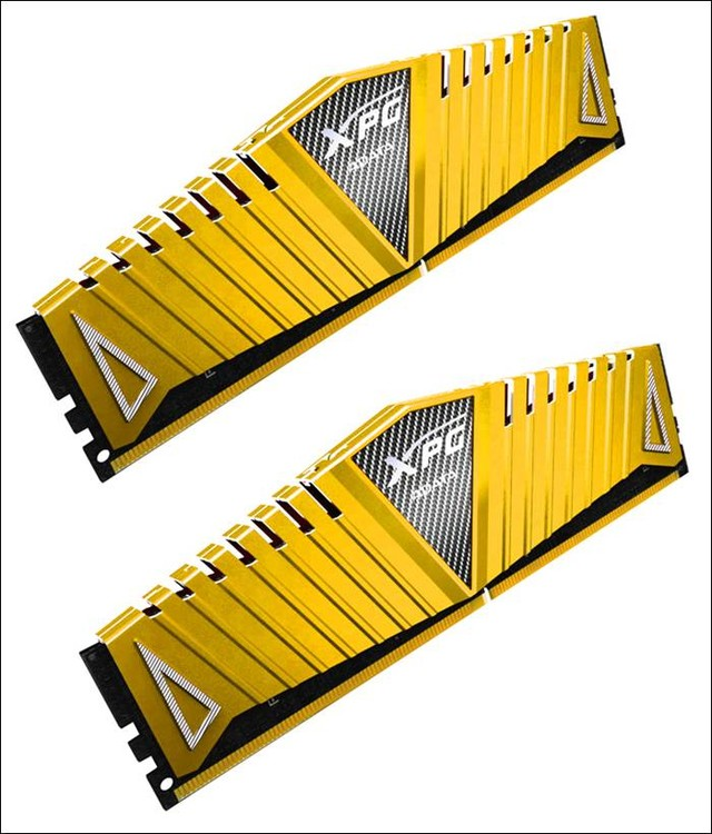 DDR4 3333游戏神器,威刚XPG Z1金色版内存