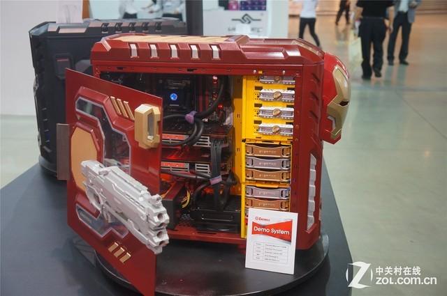 机电散要啥有啥 安耐美荟萃台北电脑展