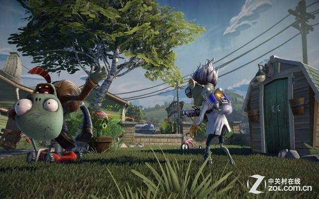 PS3/PS4版《植物大战僵尸:花园战争》8月问世