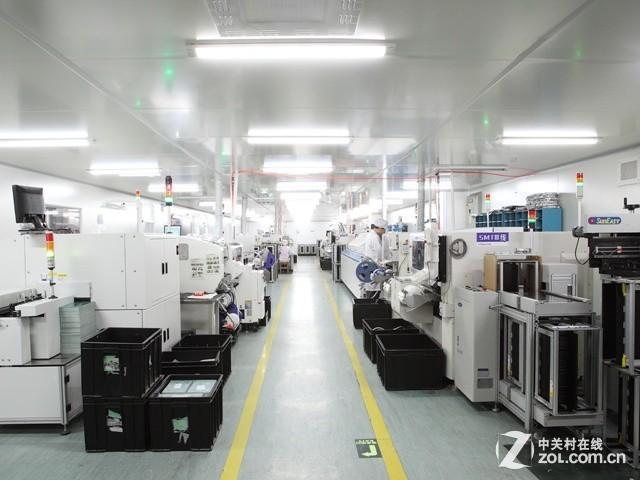 zol走进万和:高效率热水器生产流水线图片