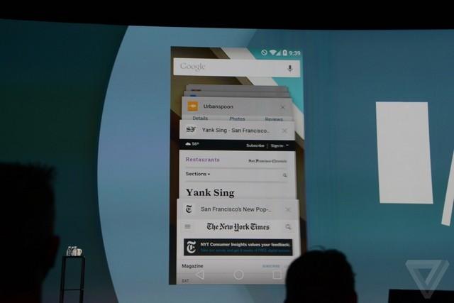 没有棒棒糖 Android L新系统先行预览