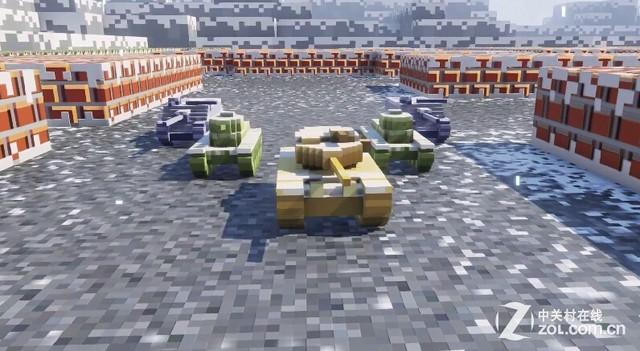 坦克世界新游戏模式  马赛克冬日世界