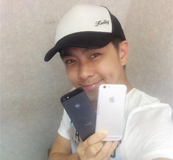 林志颖曝光iPhone6为测试真机