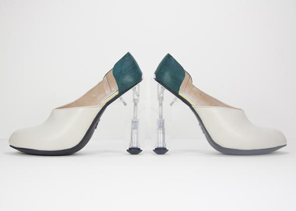 高跟鞋的工业结构设计(多图);