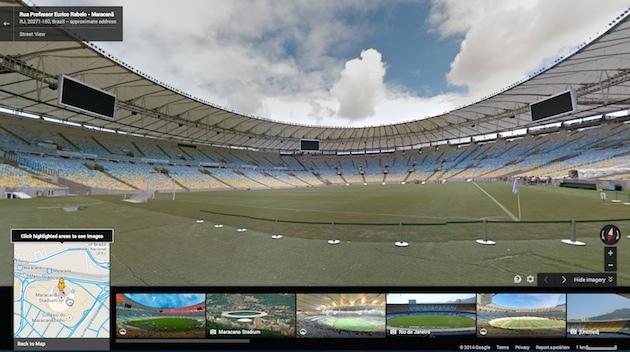 Google街景:尽览巴西世界杯场馆风光