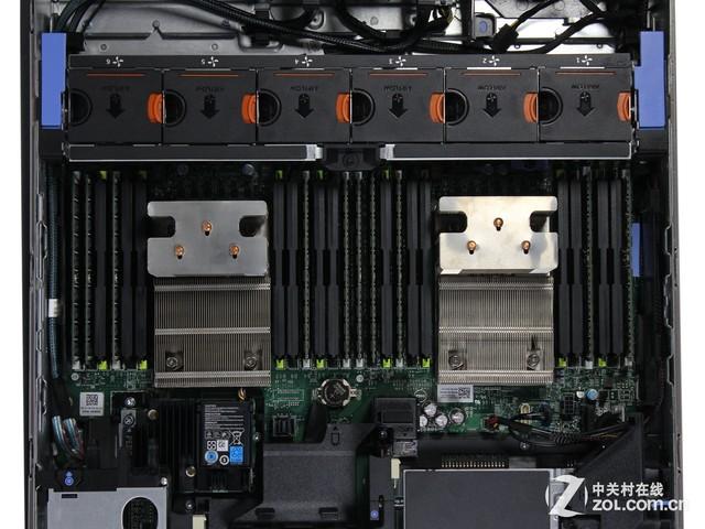 Xeon E5-2620 V3 2.4GHz   处理器数量/最高2/2   L2缓存6256KB   L3缓存15MB   芯片组Intel C610   内存/最大160GB ECC DDR4/768GB   内存插槽24个DIMM插槽   扩展插槽  最高可配7个PCIe 3.0及专用PERC插槽   硬盘/托架8*300GB SAS 2.5英寸硬盘   网络适配器 4个千兆网络端口   电源2个80Plus白金认证750W   RAID支持PERC H730p mini RAID卡   管理集成远