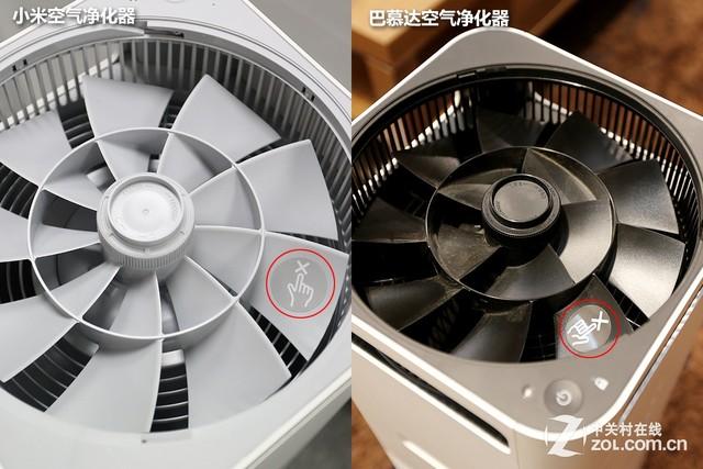 节操去哪了? 小米VS巴慕达空气净化器对比