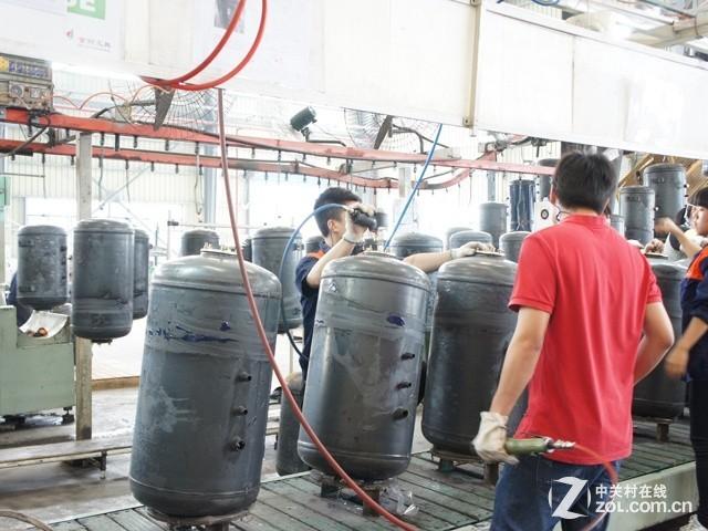 ZOL走进万和 优质热水器是怎样炼成的