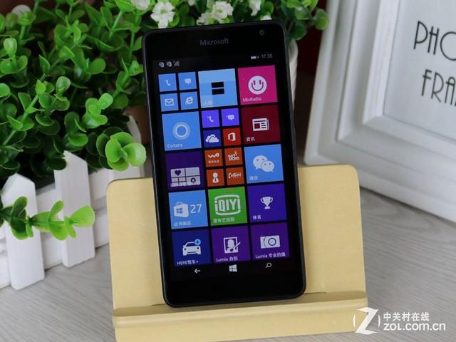 尝鲜微软首款Lumia535 还是诺基亚味道