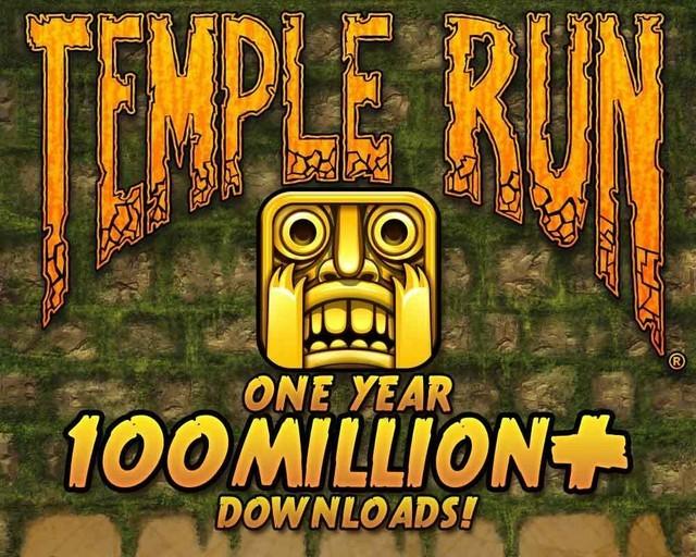 Temple Run下载破10亿:多数玩家为女性
