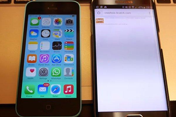 太邪恶!10个让别人的iPhone崩溃方法