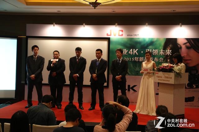 微电影级4K摄像机 JVC召开新品发布会