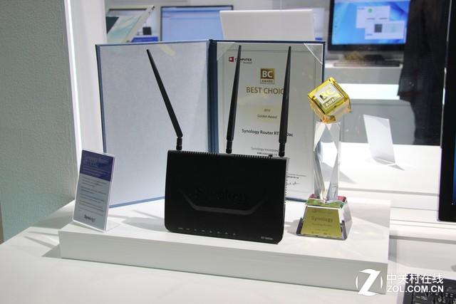 群晖亮相2014年Computex 展示多款产品