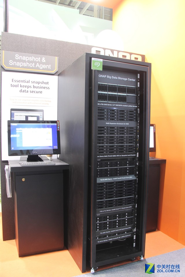 QNAP亮相Computex 2014 展示NAS进阶能力