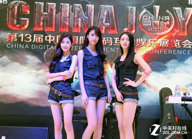 8.1 Miss ChinaJoy:来自暴雪的三大美女