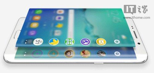 三星S6 edge+再曝光 侧面屏幕有更多功能