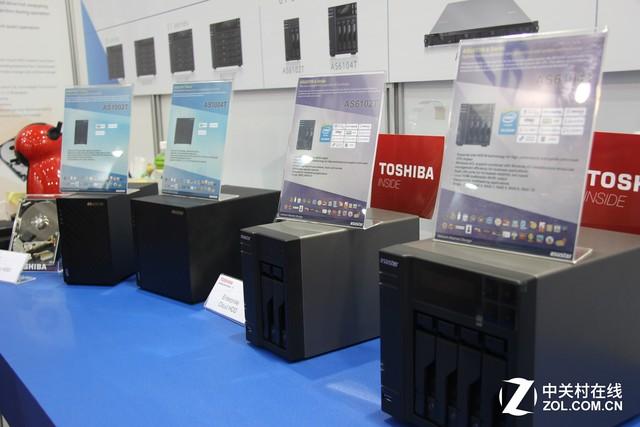 Computex 华芸希捷联手打造NAS网络存储